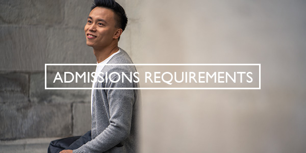Admissions Requirements Full-time Button