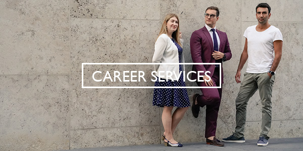 Career Services Full-time Button