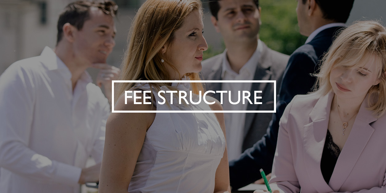 Fee Structure button